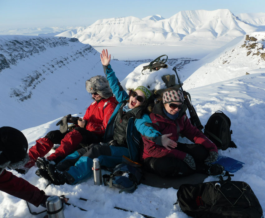 A to Z student guide to Longyearbyen