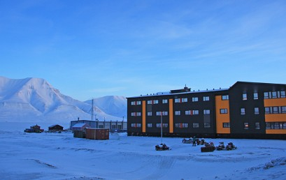 New student hostel in Svalbard