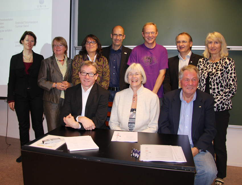 UNIS strengthens cooperation with Norwegian universities