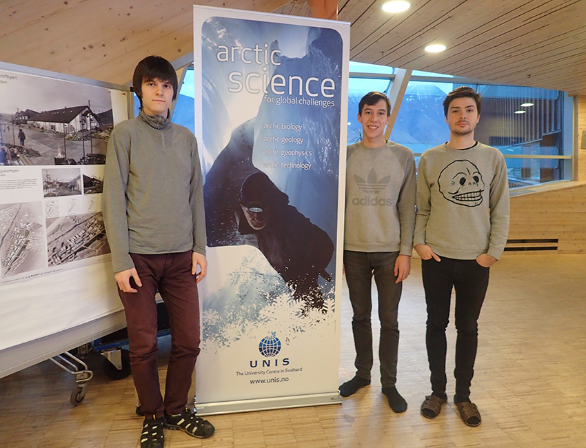 Russian students at Arctic Technology autumn 2016. Photo: Nataly Marchenko/UNIS