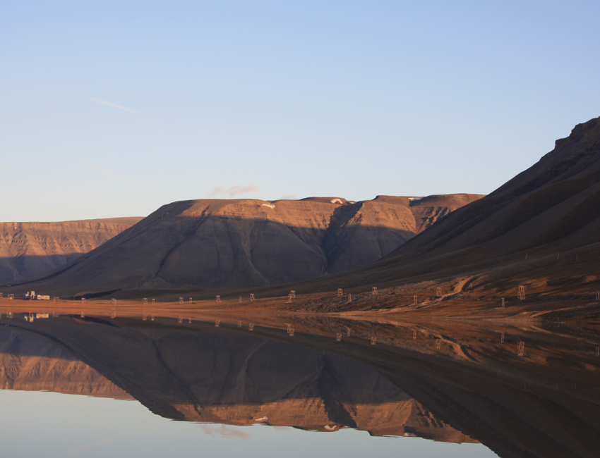 Coal formation on Svalbard 60 million years ago