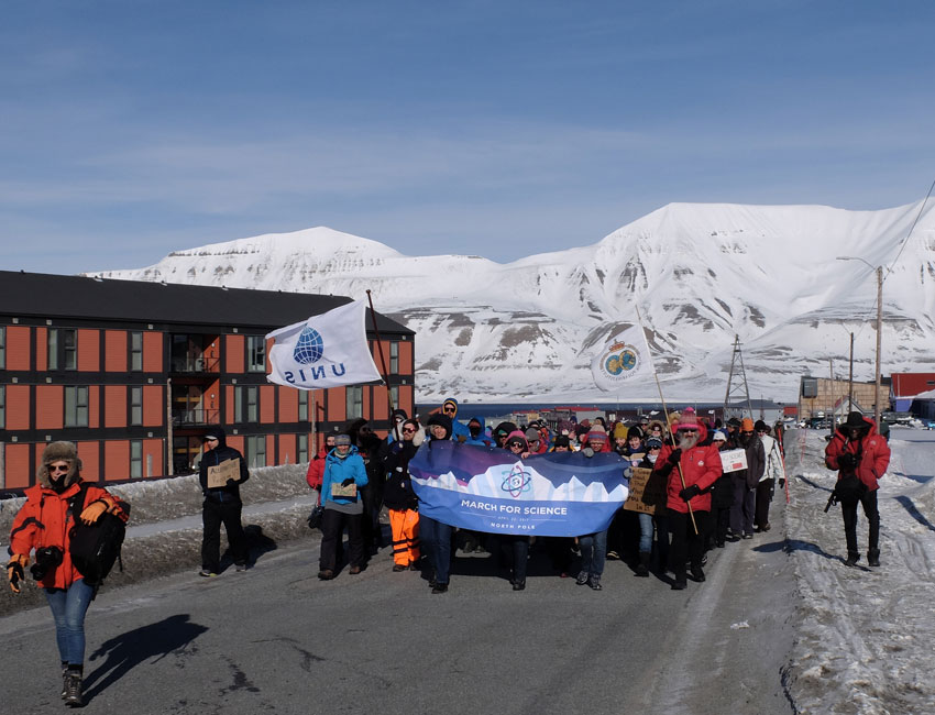March for Science Longyearbyen: A big success!