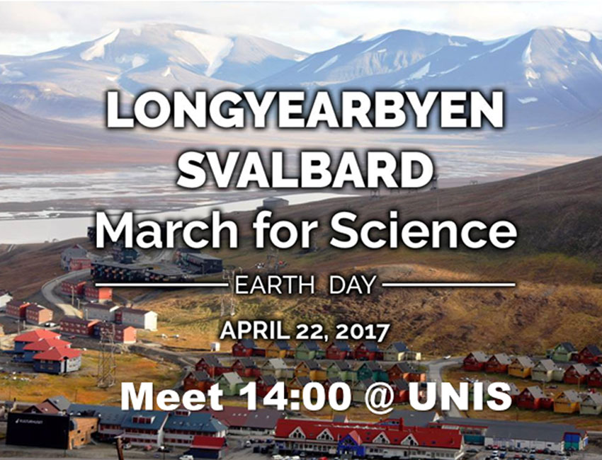 March for Science 22 April at 2 PM