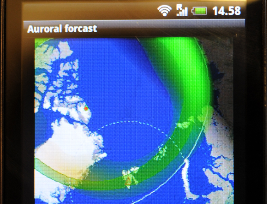 Featured image for 'The auroral forecast goes mobile'