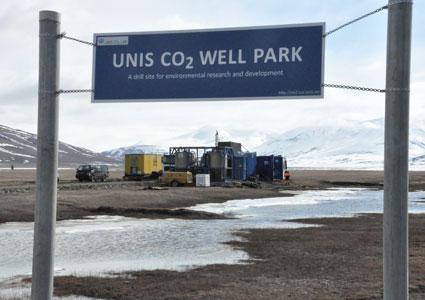UNIS CO2 Lab, Svalbard. Photo: Ragnhild Rønneberg/UNIS.