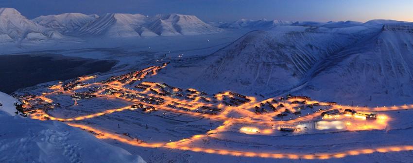 Longyearbyen in November.