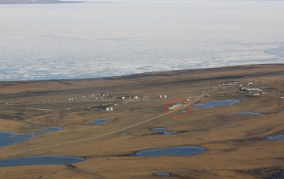Permafrost investigations at 81°36' N