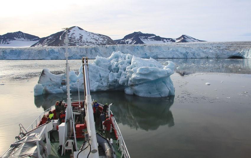 Storbreen, Hornsund, Svalbard.