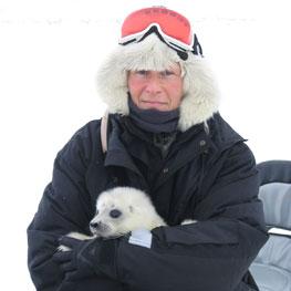 Kit Kovacs. Foto: Christian Lydersen/Norsk Polarinstitutt