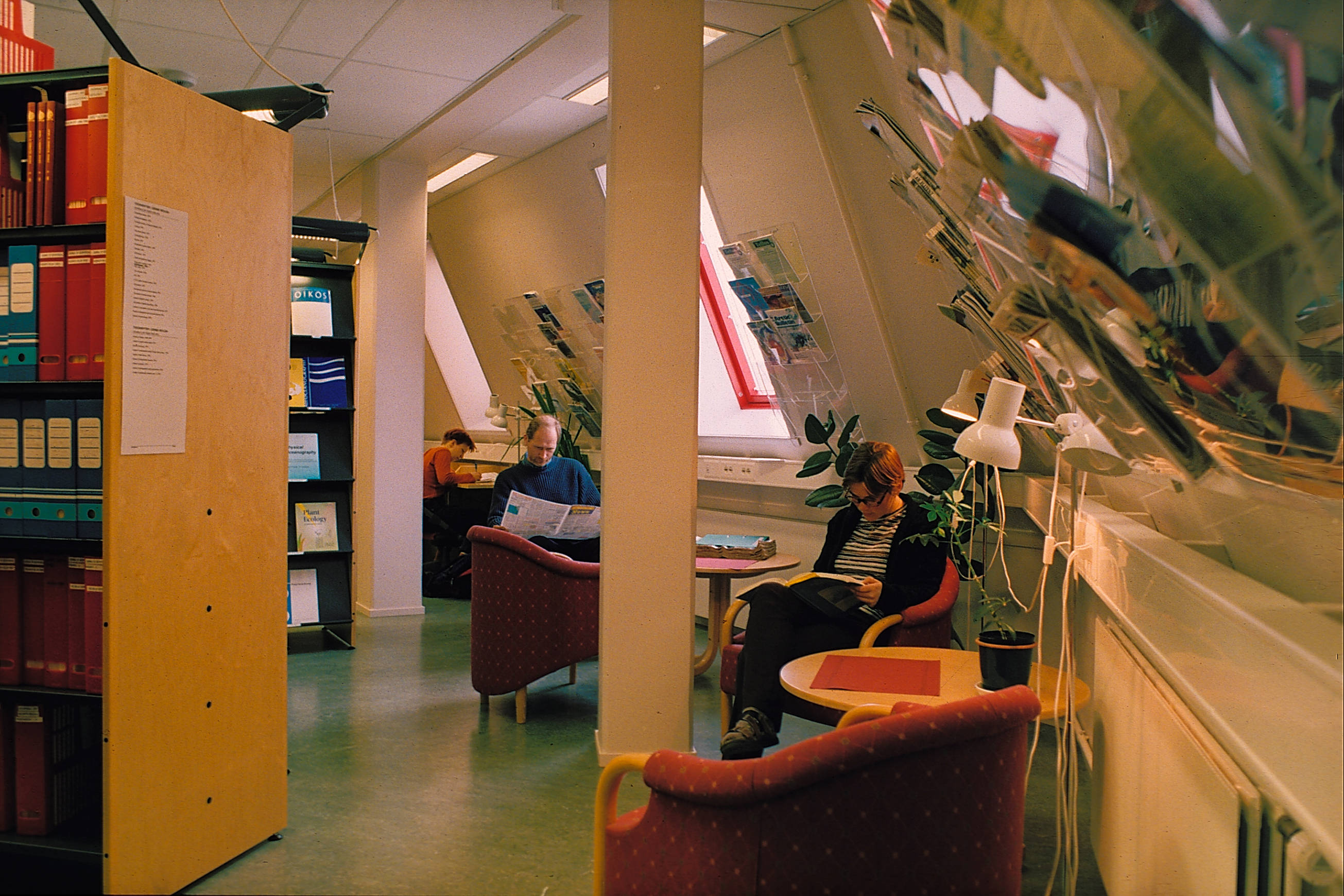 From the old UNIS library, which opened in 1995. (Photo: Tor Brekke).