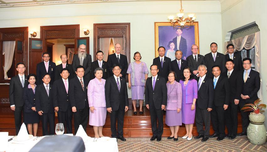 Norway's delegaetion to Thailand