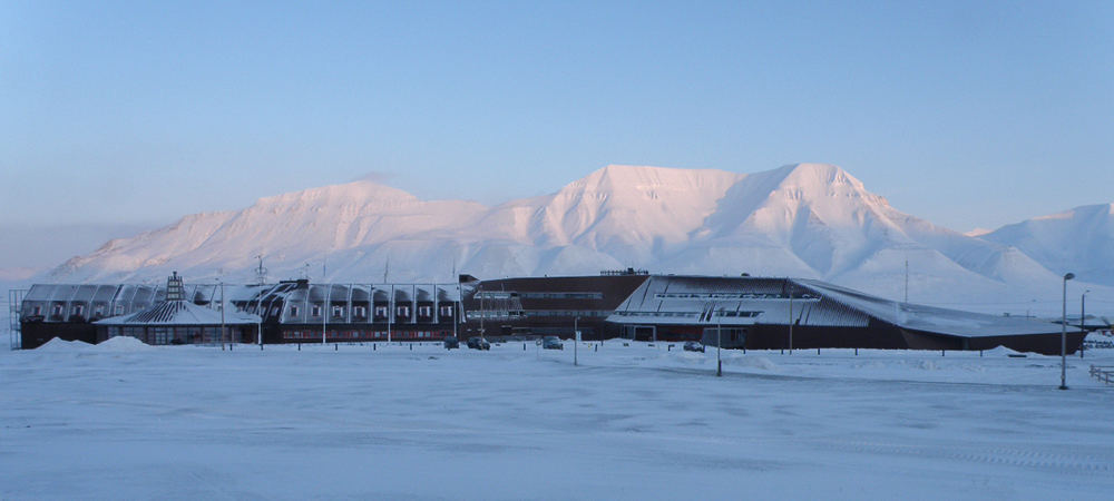 The University Centre in Svalbard (UNIS) in February.