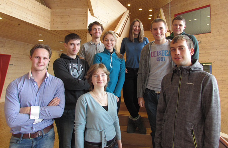 Russian students at UNIS autumn 2015