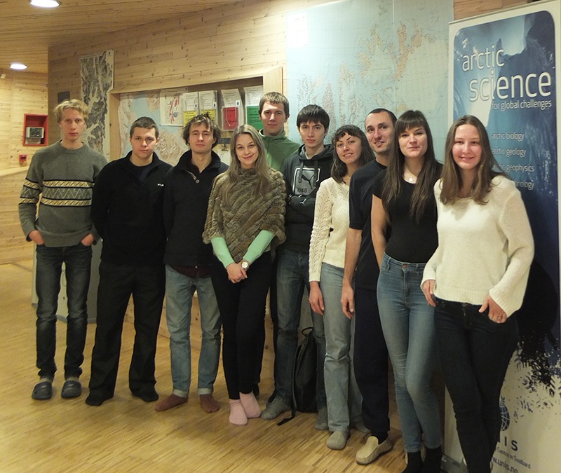 Russian students November 2015