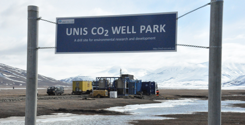 UNIS CO2 well park