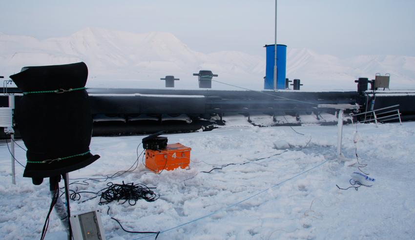 Field site, Longyearbyen