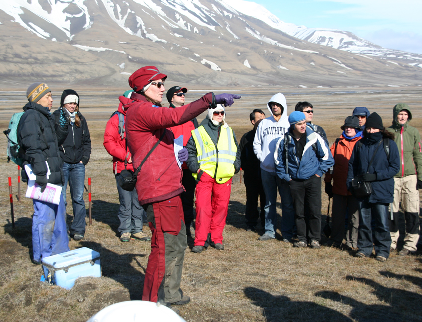 Svalbard has the warmest permafrost in the High Arctic