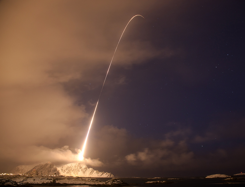 Aurora rocket launched