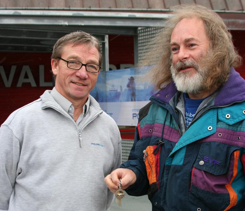 Gunnar Sand and Chris Thomas