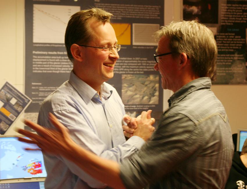 Jøran Moen and Gunnar Sand