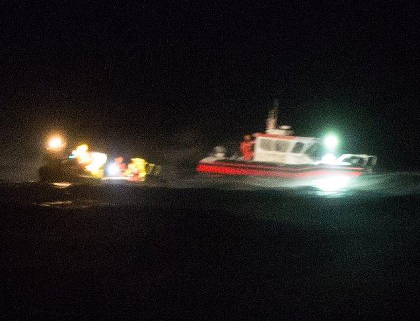 Incident with damaged UNIS vessel