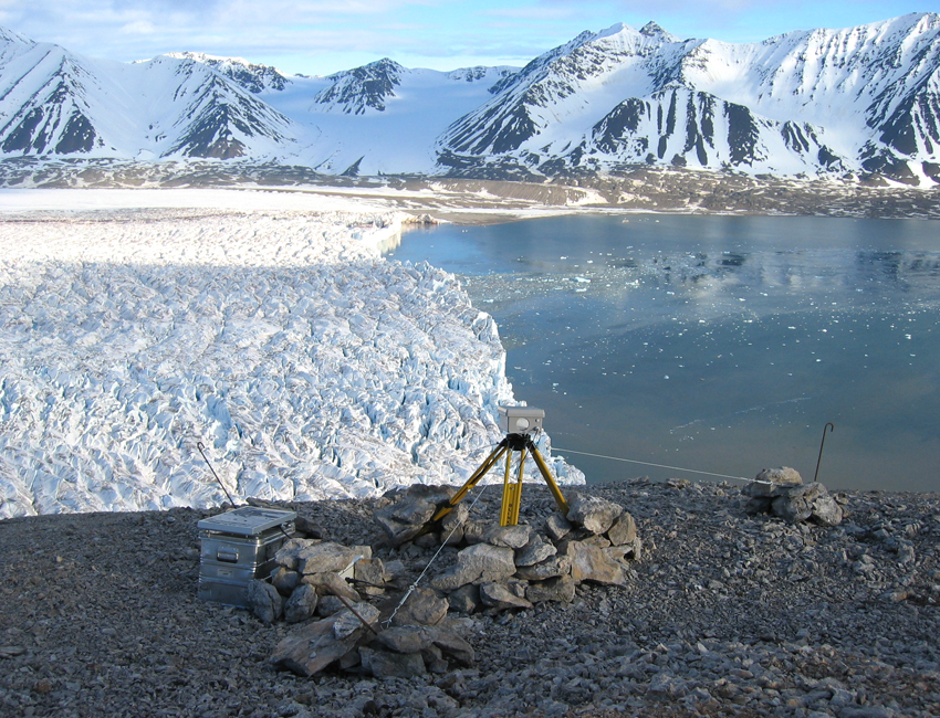 Featured image for 'The dynamics of Svalbard glaciers'