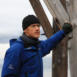 Thor Bjørn Arlov, historiker NTNU/UNIS.