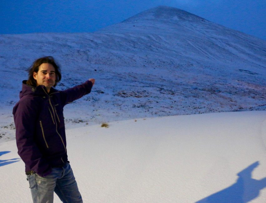 Alexander Prokop in Longyearbyen