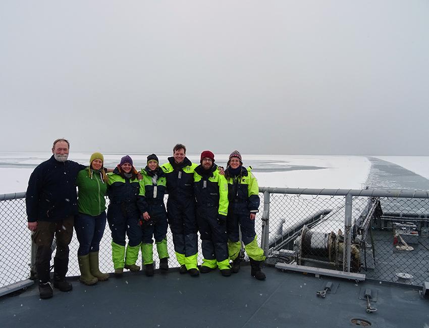 The FAAbulous crew: Jozef Wiktor, Tove Gabrielsen, Ane Cecilie Kvernvik, Helena Cuny, Sander Verbiest, Patrick Schimmel, and Eva Leu. Photo: Eva Leu