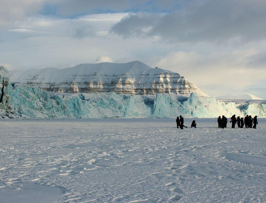 Tunabreen Tempelfjorden Svalbard