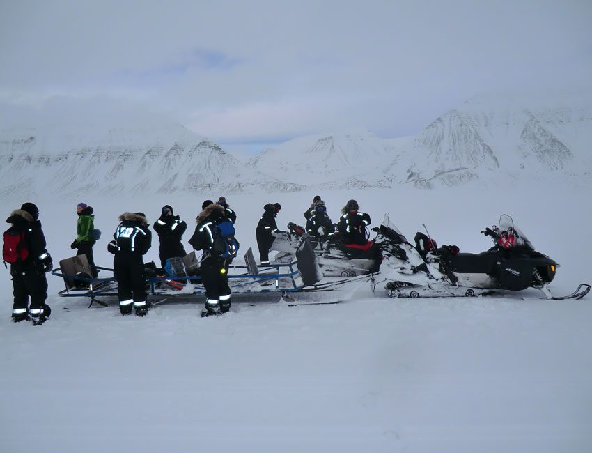 Scooter excursion Svalbard