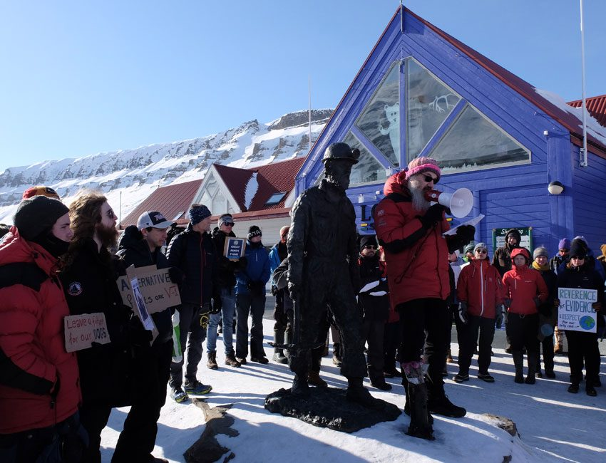 March for Science in Longyearbyen 22 April 2017