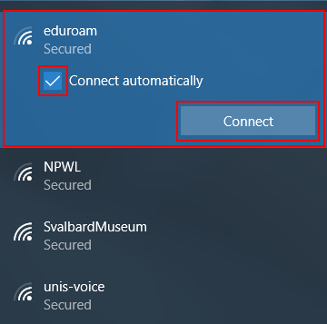connecting to wifi after windows 10 update