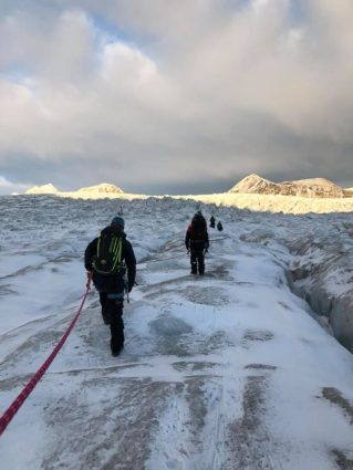 "From the Arctic Safety Centre pilot course ""Safety Course for Arctic Field Stations"" 1–8 October 2018. Photo: Ann Christin Auestad/UNIS"