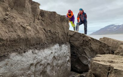Featured image for 'UNIS launches permafrost course'