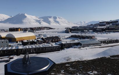 A different kind of spring in Svalbard