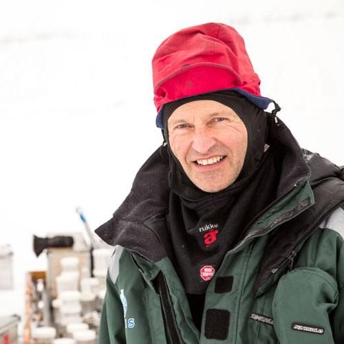Sveinung Løset. Photo: Aleksey Shestov/UNIS.