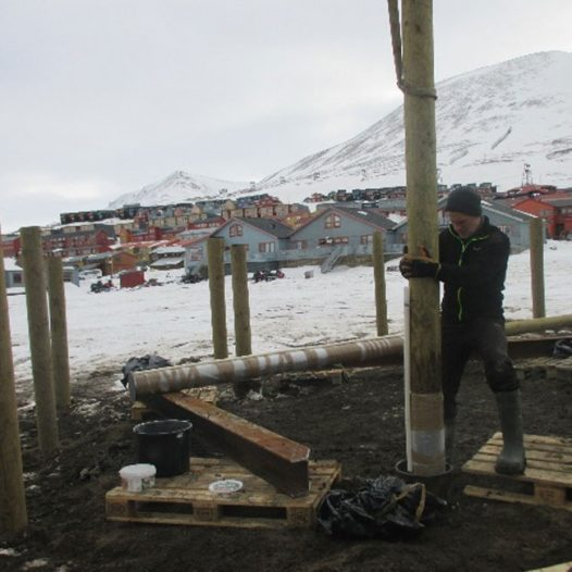 Featured image for: Pile test campaign to monitor thawing permafrost