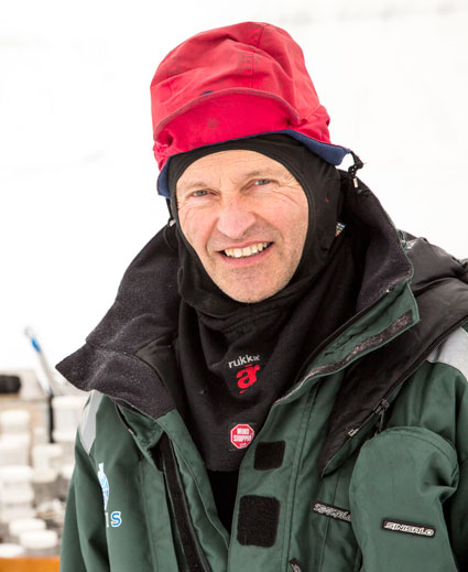 Professor Sveinung Løset. Photo: Aleksey Shestov/UNIS.