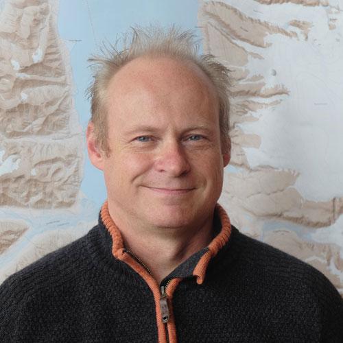 Øyvind Mikkelsen. Photo: UNIS.