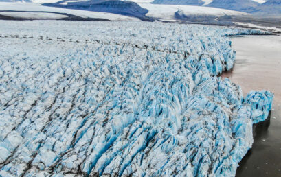 Featured image for 'Mapping glaciers with drones in Svalbard – this is how we actually do it'
