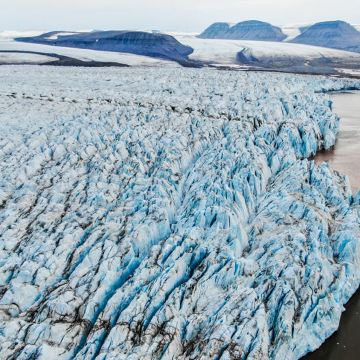 Featured image for: Mapping glaciers with drones in Svalbard – this is how we actually do it