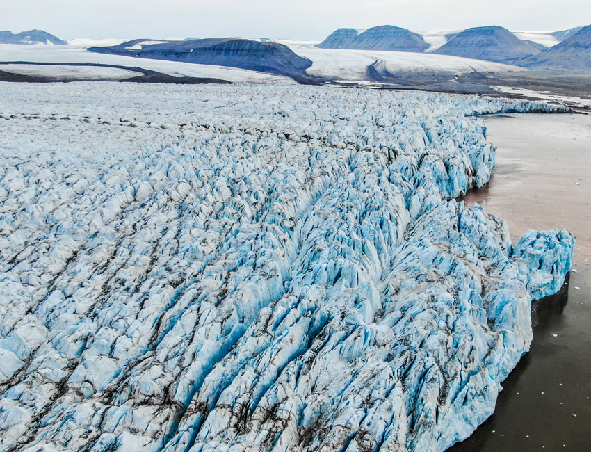 Mapping glaciers with drones in Svalbard – this is how we actually do it