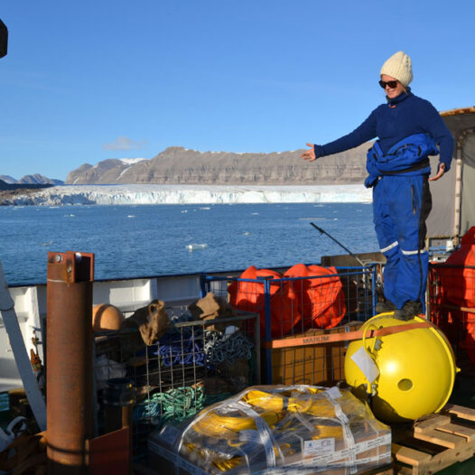 Featured image for: Tides and weather affect transport of warm water to the Arctic