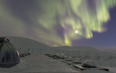 Featured image for 'Svalbard's special northern lights'