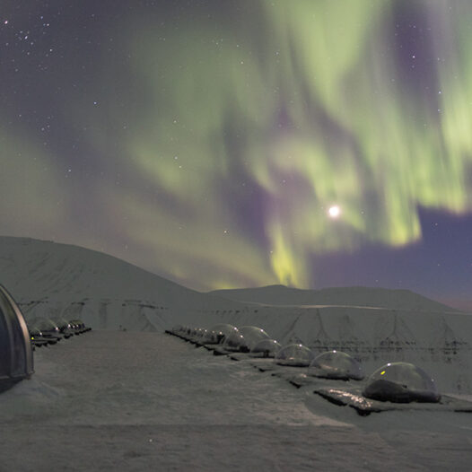 Featured image for: Svalbard's special northern lights