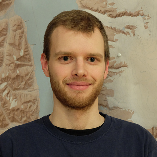 PhD candidate Lukas Frank
