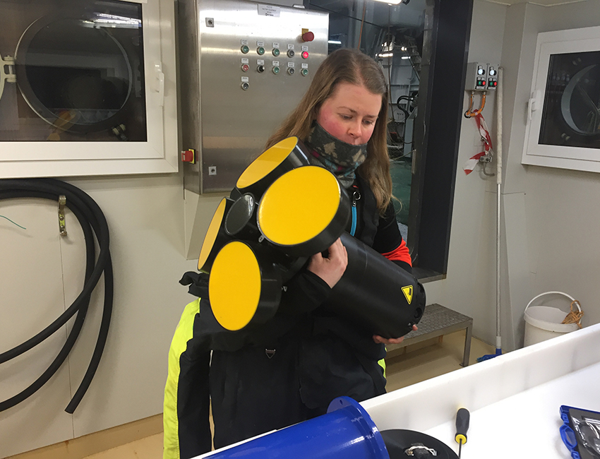 Women in Science: Investigating the Barents Sea