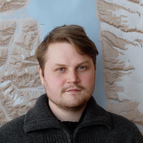 UNIS stipendiat Stig Andreas Johannessen
