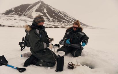 Featured image for 'Hidden biodiversity inside of Svalbard's sea ice'